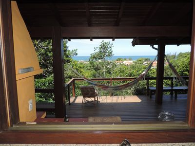 Photo for Paradise on the beach Silveira. House for 8/10 people with beautiful view w / the sea.