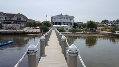Photo for Bayfront Estate in North Beach, Long Beach Island
