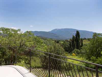Photo for the hill farm facing Mont Ventoux: exceptional panorama near Vaison
