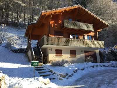 Photo for South facing chalet , St Jean d'Aulps 74430