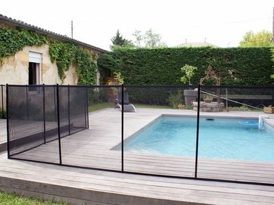 Photo for ST MEDARD: Large Girondine restored with heated pool near BORDEAUX
