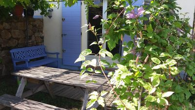 Photo for Cottage with beautiful views of Grimaud near the wilderness in the Mediterranean