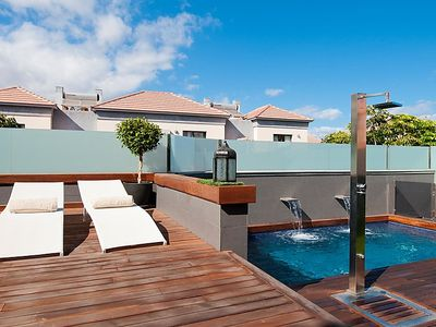 Photo for 4 bedroom Villa, sleeps 6 in Meloneras with Pool, Air Con and WiFi