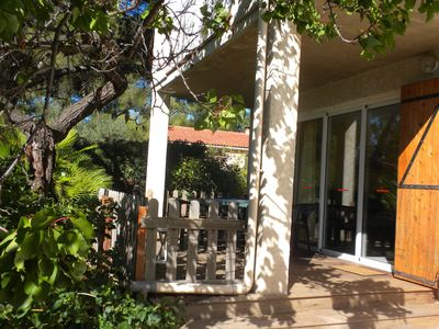 Photo for appart. Independent T3 in villa RdeCh with garden - Tourist classification 3 * -