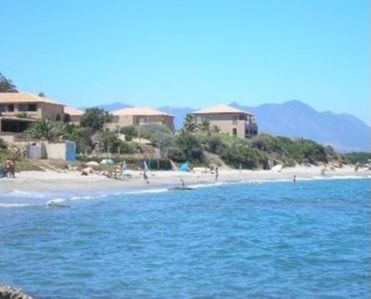 Photo for Studio 3 - 50 m sand beach end quiet place with trees - sea view