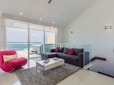 Photo for The Best Ocean View! Penthouse with Jacuzzi for 8. Blue PH 1-5