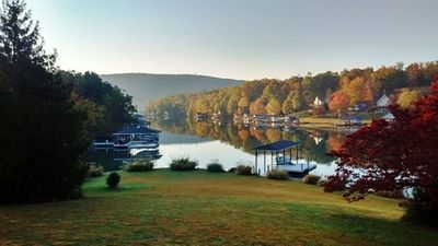 Photo for Smith Mountain Lake vacation rental, waterfront, quiet, dock, swimming