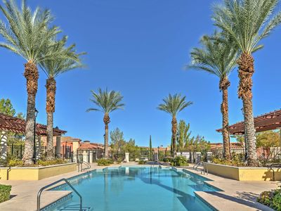 Photo for Lavish Lake Las Vegas Condo w/Resort Amenities!
