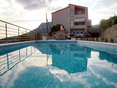 Photo for Three bedroom apartment with balcony and sea view Klis, Split (A-17986-a)