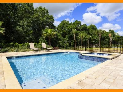 Photo for Reunion Resort 26 - Luxury villa with private pool & spa near Disney