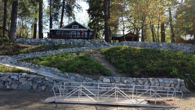 Cozy Lakefront Cabin on Lower Twin Lake w/Private Dock