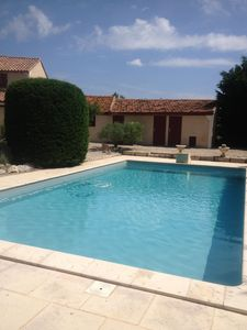 Photo for Country house with pool in Fontveille