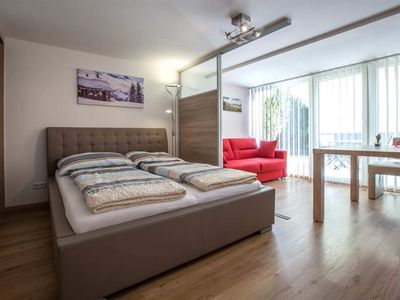 Photo for Apartment, shower, toilet, 1 bedroom - Alpine Appart