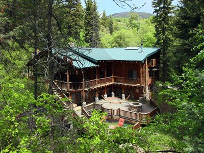 Photo for Stunning Log Cabin - Perfect for Retreats, Family Reunions and Group Gatherings