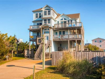 Photo for Handicap Friendly in Salvo- Oceanview w/ Pool, Hot Tub, Game Rm, Elevator & More