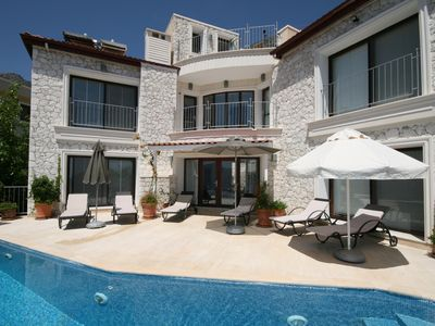 Photo for Beautiful Kalkan Villa with Secluded Private Pool and Stunning Seaviews