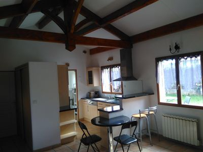 Photo for Independent apartment fully equipped 20 minutes from Lyon and 15 minutes Eurexpo