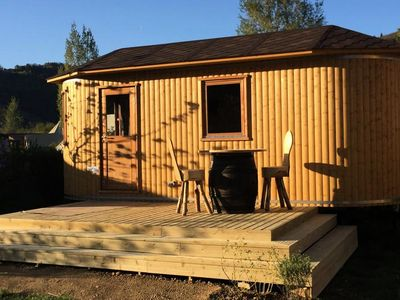Photo for Camping La Roche d'Ully **** - Cottage Clavelin 2 rooms 2 people