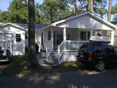Photo for quaint 2 bed 2 bath, wifi, w/d, in ocean lakes, very clean and in great shape