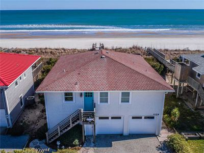 Photo for TOURNESOL: 3 BR / 2 BA oceanfront in Topsail Beach, Sleeps 7