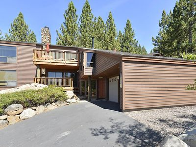 Photo for Comfortable, Lakeview Home with 2 Living Areas, hot tub & walk to Lake