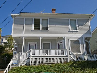 Photo for Charming Victorian Triplex, 2 Blocks to the Beach, WIFI