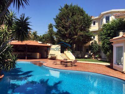 Photo for Luxurious villa with a swimming pool, ideal for a family or group of friends