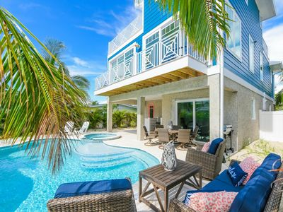 Photo for Amazing 360 degree Water Views from Roof Top Deck! Steps to the Beach!