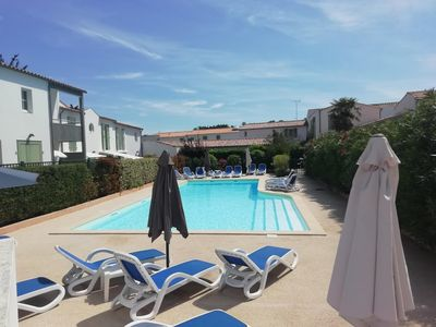 Photo for Apartment with pool and parking at La Jolie Brise in La Flotte