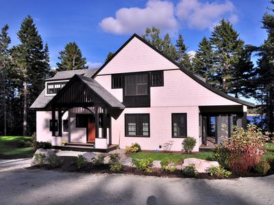 Photo for 2016 Cottage, Oceanfront Tranquility, Semi-Luxury Amenities, Walk To Acadia Park
