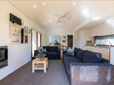 Photo for Unique 2 bedroom riverside Boathouse in central Barwon Heads