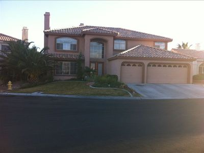 Photo for Beautiful Summerlin Escape - Desert Villa