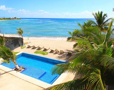 Photo for Beachfront with POOL! LAST MINUTE DISCOUNTED RATE!