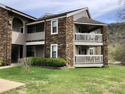 Photo for Lakefront ~ Indoor/Outdoor Pools ~ Walk-In ~ Gated Community ~ Fishing ~ 2 Decks