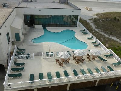 Photo for Great View, Beautiful Oceanfront property @ Sands Beach Club #714