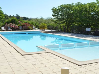Photo for Captivating Holiday Home in Les Vans with Pool