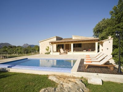 Photo for Villa Ponta for 4 guests with a private pool, just 1.4km from Old Town Pollensa! (Catalunya Casas)