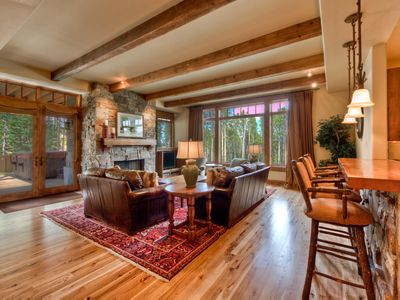 Photo for Ski in, ski out luxury suite -- amazing views, hot tub, home theater, pool table