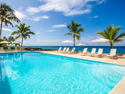Photo for Oceanfront Villa with Two Pools, Large Jacuzzi, Mini-Gym, Private Sea Access, Gazebo, Free Wifi