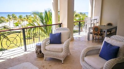 Photo for Blue Pearl - Beachfront condo in Cap Cana