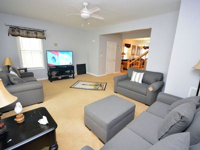 Photo for Classy 5-bedroom luxury townhouse with free WiFi located in bayside gated community with amenities like indoor/outdoor pools, private beaches, and more!