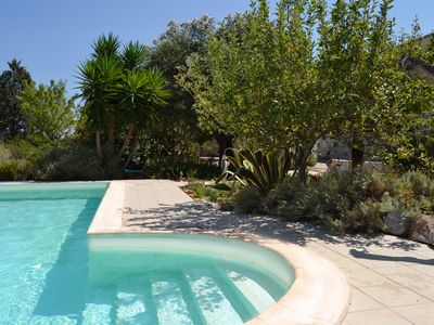 Photo for -20% from 19-28/07country life, private pool, sea view,