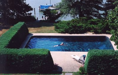 Photo for Waterfront house, private pool & dock, free WiFi, Eastern Shore of Chesapeake