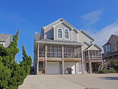 Photo for Oceanfront Duplex with 5 Bedrooms