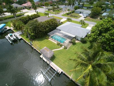 Photo for Love Water? Gulf Access, Boat Dock, Free Wifi, Private Heated Pool - Stunning SE Cape Coral Home!