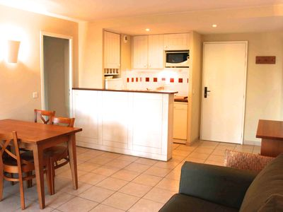 Photo for Large apartment in holiday village near the sea and golf courses