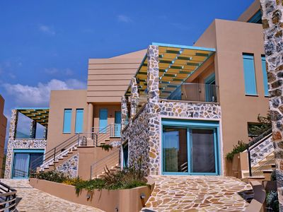 Photo for Ouzo Villas at Ag.Isidoros PLomari,Lesvos-2Bedrooms