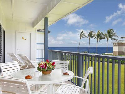 Photo for Poipu Sands Amazing Ocean view *Poipu Sands 424*