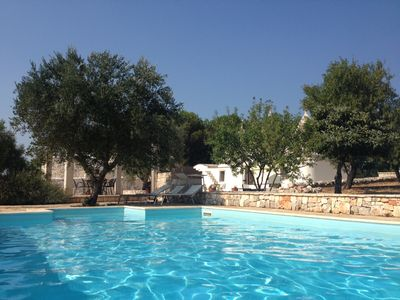 Photo for 3-bedroom Trullo Set In 3 Acres Of Olive And Almond Groves, With Pool