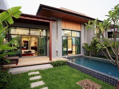 Photo for VW1: Onyx Naiharn 1BR Private Pool  Villa